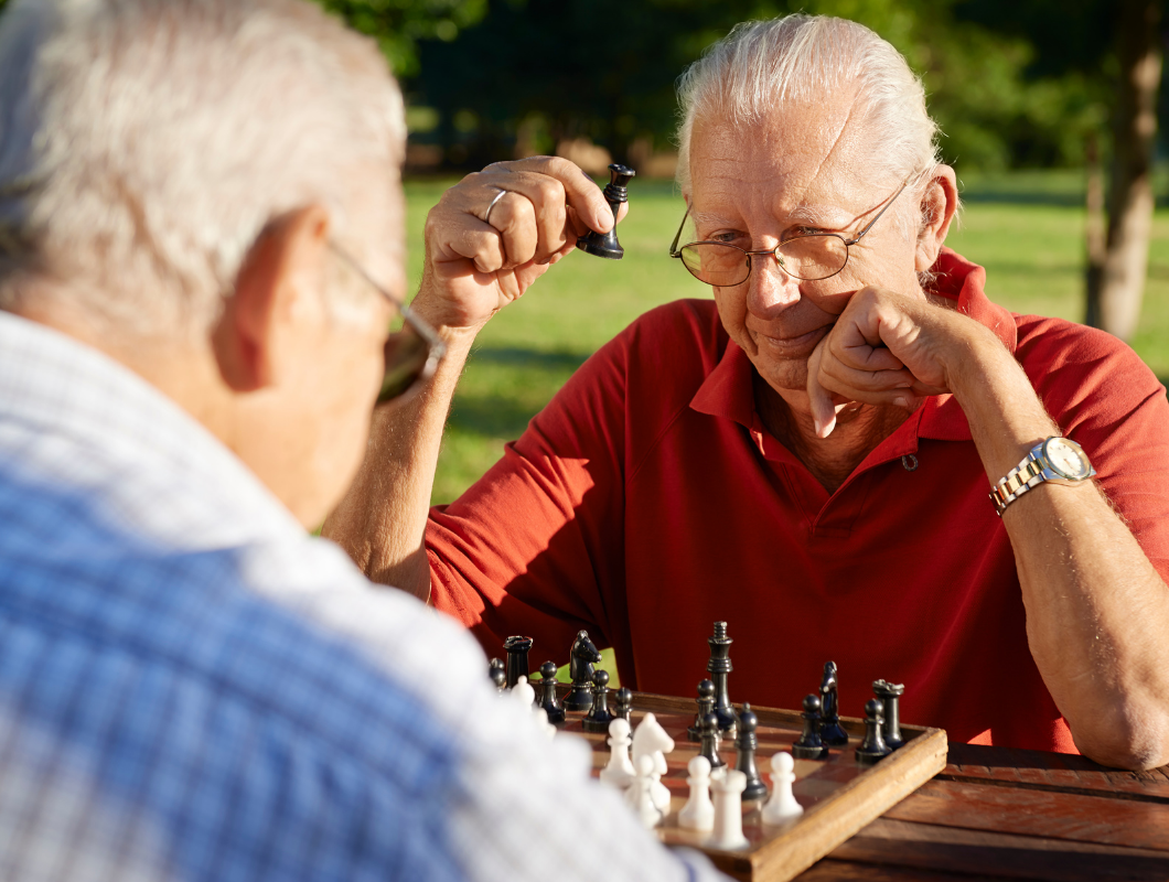 Meaningful activities like chess slow dementia decline