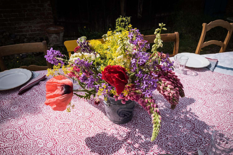 Lunch in the garden